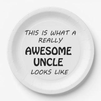 Fantastischer Onkel Pappteller