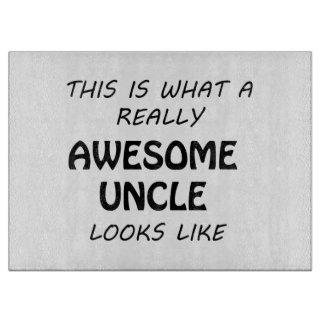 Fantastischer Onkel Schneidebrett