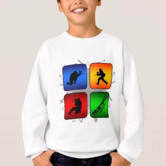 Fantastischer Paintball-städtische Art Sweatshirt