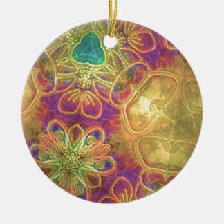 Fantastischer Plastik Rundes Keramik Ornament