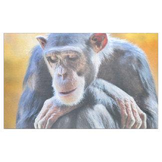 fantastischer Schimpanse 1016 Stoff
