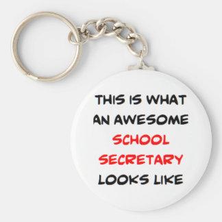 fantastischer Schulsekretär Schlüsselanhänger