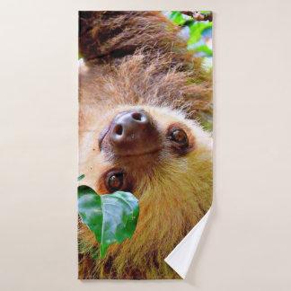 fantastischer Sloth Badhandtuch Set