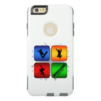 Fantastischer Snowboarding-städtische Art OtterBox iPhone 6/6s Plus Hülle