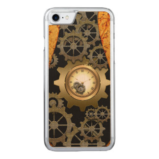 Fantastischer steampunk Entwurf Carved iPhone 8/7 Hülle