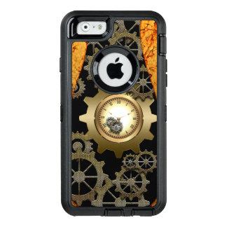 Fantastischer steampunk Entwurf mit Uhren und OtterBox iPhone 6/6s Hülle