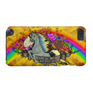 Fantastischer Überlastungs-Unicorn, Regenbogen u. iPod Touch 5G Hülle