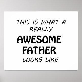 Fantastischer Vater Poster