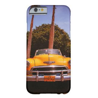 Fantastischer Vintager Havana-Autodruck auf iphone Barely There iPhone 6 Hülle