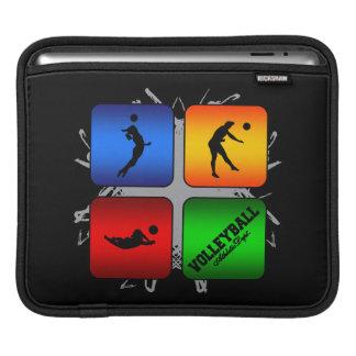 Fantastischer Volleyball-städtische Art Sleeve Für iPads