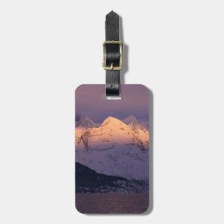 Fantastisches Alpenglow Kofferanhänger
