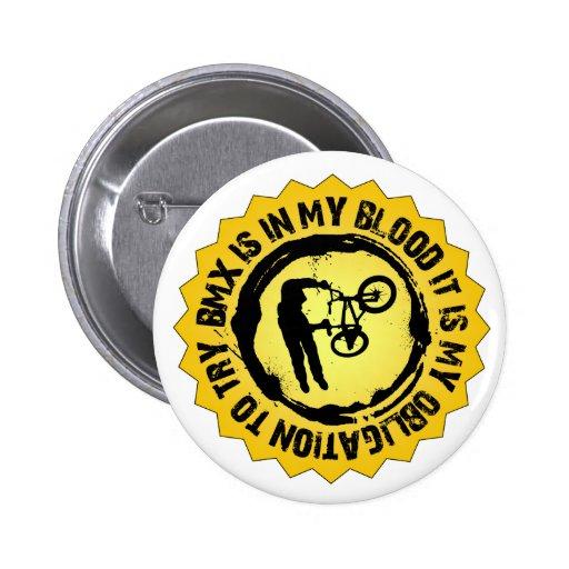 Fantastisches BMX Siegel Anstecknadelbutton
