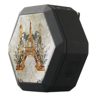 Fantastisches eiffeltower mit Rosen Schwarze Bluetooth Lautsprecher