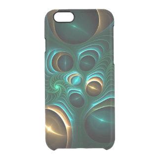 Fantastisches Fraktal Durchsichtige iPhone 6/6S Hülle
