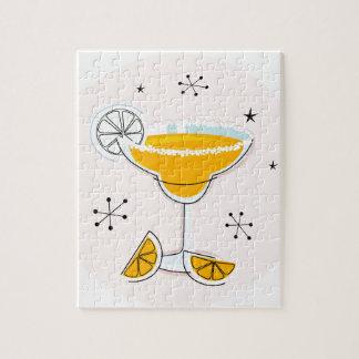 Fantastisches Goldniedliches Margarita-Cocktail Puzzle