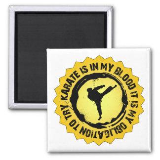 Fantastisches Karate-Siegel Quadratischer Magnet