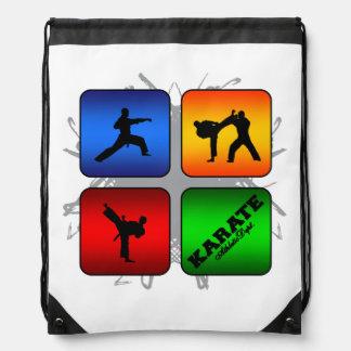 Fantastisches Karate-städtische Art Sportbeutel