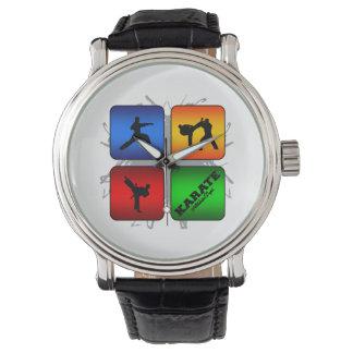 Fantastisches Karate-städtische Art Uhr