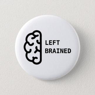 Fantastisches links Brained Knopf-Button Runder Button 5,1 Cm