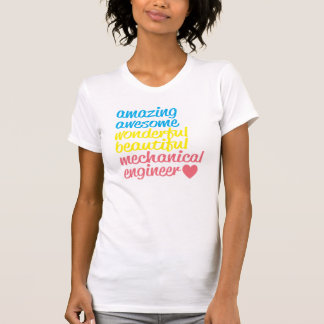 Fantastisches Maschinenbauingenieur-T-Stück T-Shirt