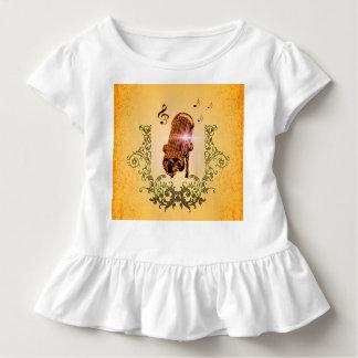 Fantastisches Mikrofon und Clef Kleinkind T-shirt