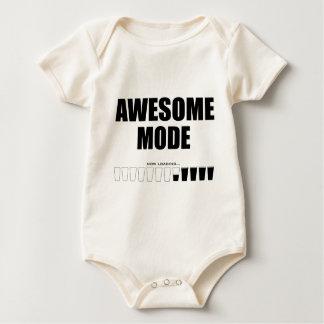 Fantastisches Modus-Laden Baby Strampler