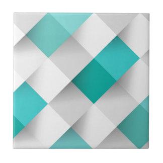 Fantastisches quadratisches Muster vom huggit Fliese