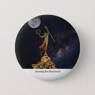 Fantastisches San Francisco Abzeichen Runder Button 5,7 Cm