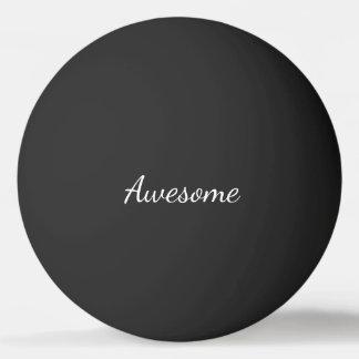 Fantastisches Schwarzweiss-personalisiertes Tischtennis Ball