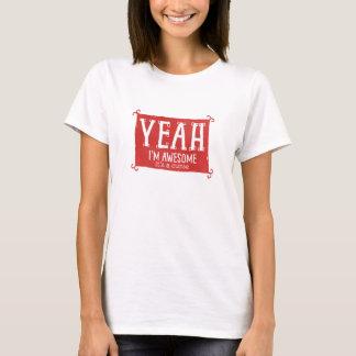 Fantastisches sein Yeah Im ein Fluch T-Shirt