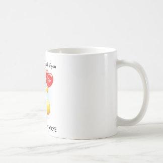 Fantastisches Sentimental Geschenk für Ihre Liebe Kaffeetasse