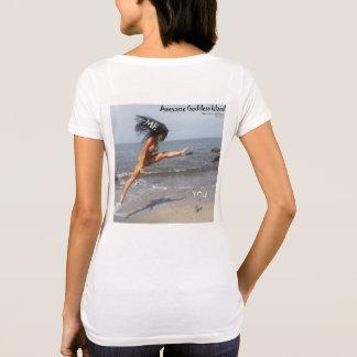 Fantastisches Shirt der Göttin-Insel-(ich gegen
