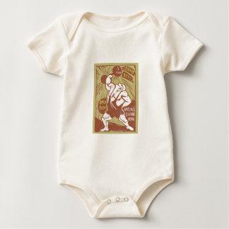 Fantastisches Strongman-Baby Baby Strampler