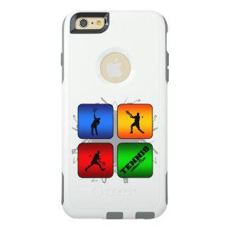 Fantastisches Tennis-städtische Art (Mann) OtterBox iPhone 6/6s Plus Hülle