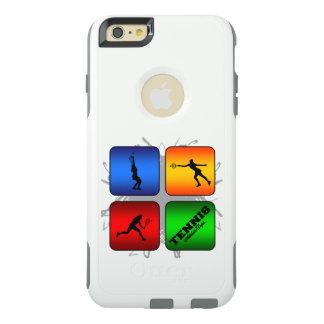 Fantastisches Tennis-städtische Art (weiblich) OtterBox iPhone 6/6s Plus Hülle