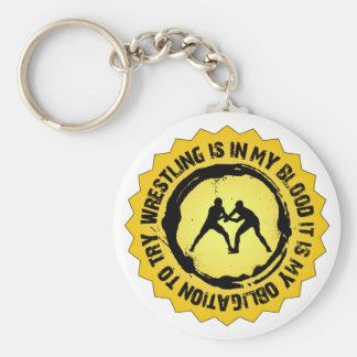 Fantastisches Wrestling-Siegel Schlüsselanhänger