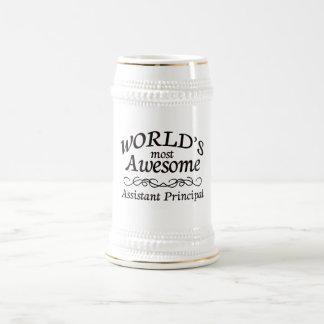 Fantastischste behilfliche Direktion der Welt die Bierglas