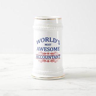 Fantastischste Buchhalter der Welt der Bierglas