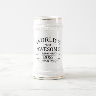 Fantastischste Chef der Welt der Bierkrug