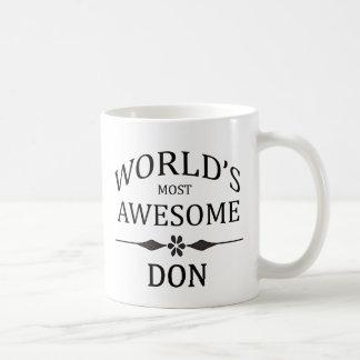 Fantastischste DON der Welt das Kaffeetasse
