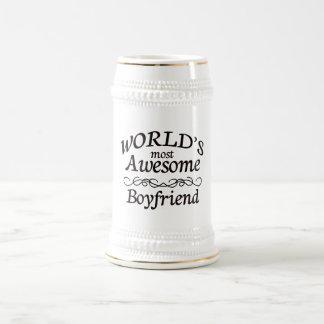 Fantastischste Freund der Welt der Bierglas