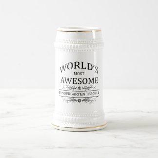 Fantastischste Kindergärtnerin der Welt Bierglas
