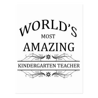 Fantastischste Kindergärtnerin der Welt Postkarte