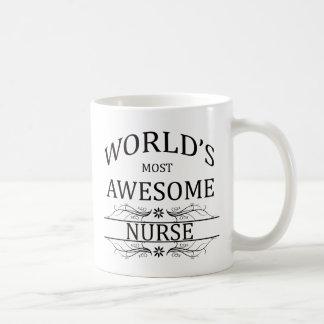 Fantastischste Krankenschwester der Welt die Kaffeetasse