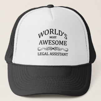 Fantastischste legale Assistent der Welt der Truckerkappe