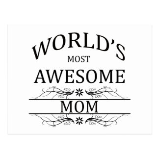 Fantastischste Mamma der Welt die Postkarte