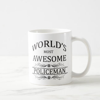 Fantastischste Polizist der Welt der Kaffeetasse