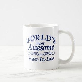 Fantastischste Schwägerin der Welt die Kaffeetasse
