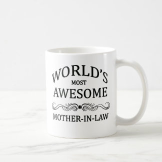 Fantastischste Schwiegermutter der Welt die Kaffeetasse