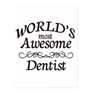 Fantastischste Zahnarzt der Welt der Postkarte